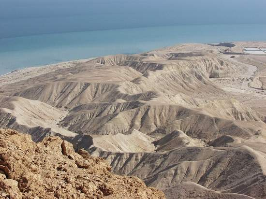 Mountains by Shore of Dead Sea