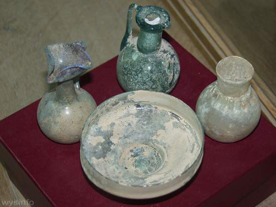 Ancient Roman Perfume Containers - Artifacts from Tarshish-Tzadok