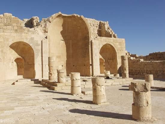 Byzantine/Nabatean Church in Shivta