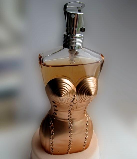 Jean Paul Gaultier Gold Lingerie