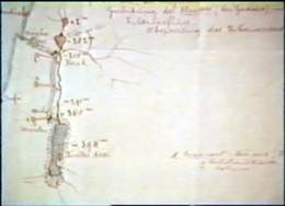 Original Plan of Mediteranean Dead Sea Canal - 19th Century
