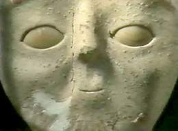 Example of Early Art of Portraiture from Ancient Jericho