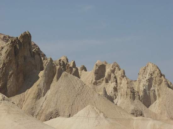 Mount Sodom - Pure Salt Carved by Wind and Water